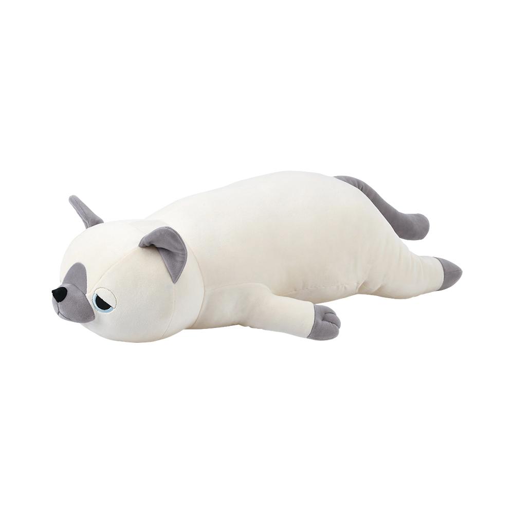 猫抱き枕(プレミアムねむねむアニマルズL)シャムネコレオ