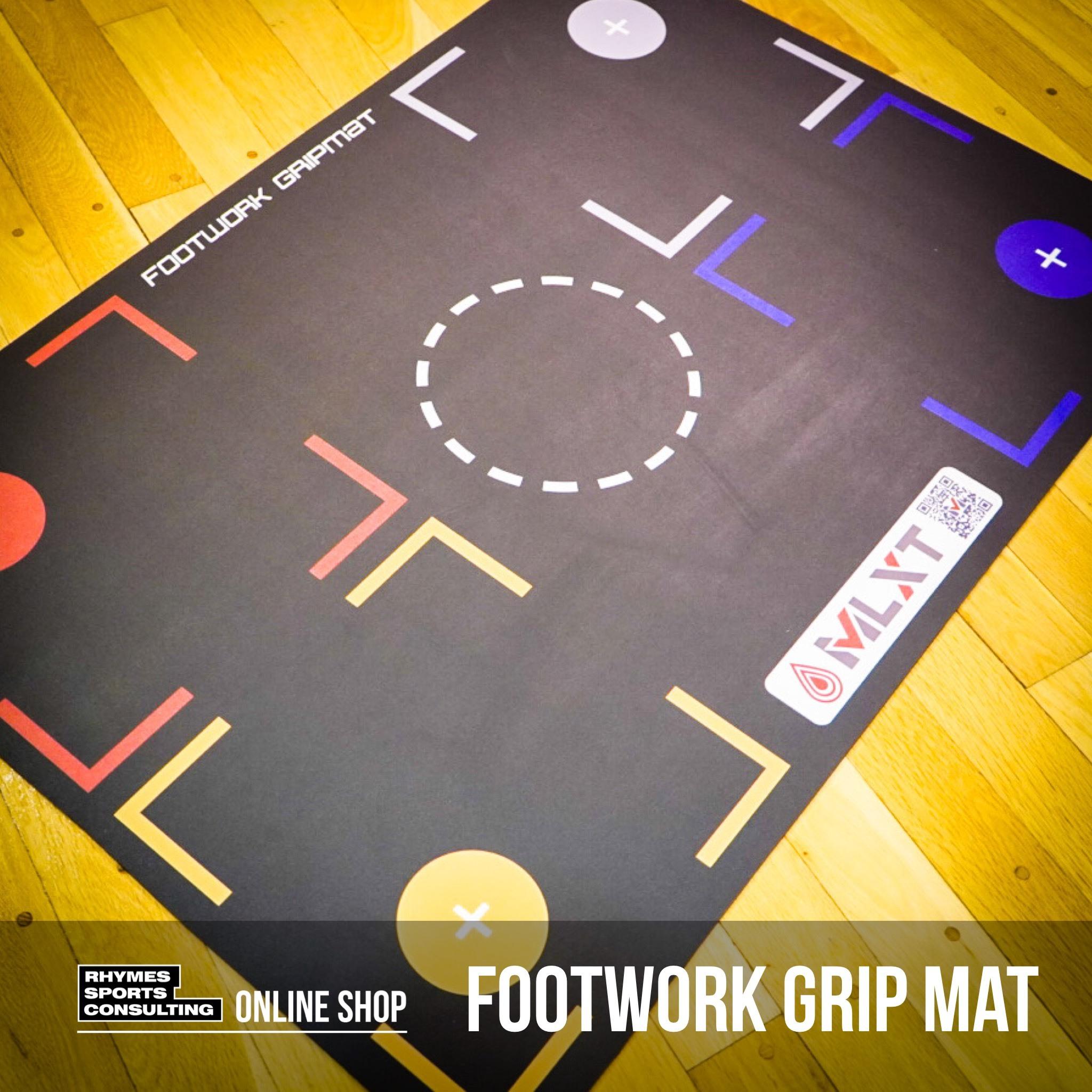 【日本で唯一の正規商品取扱店】FOOTWORK GRIPMAT|スキルトレーニング専用 フットワークマット