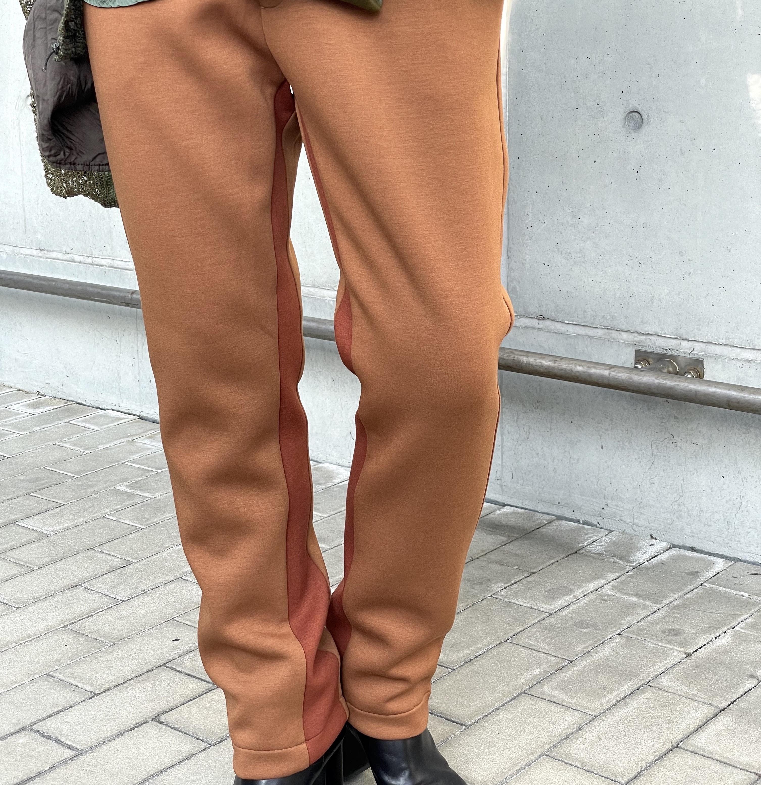 【hippiness】slack pants (brown)/【ヒッピネス】スラックパンツ(ブラウン)