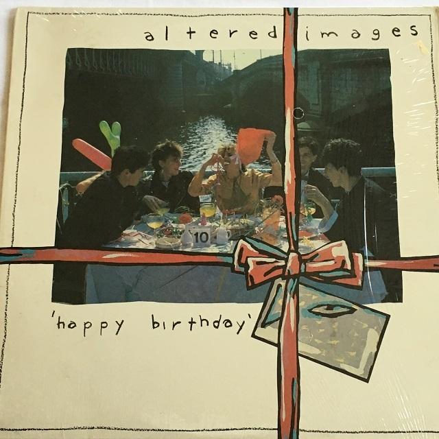 【LP・米盤】Altered Images  / Happy Birthday