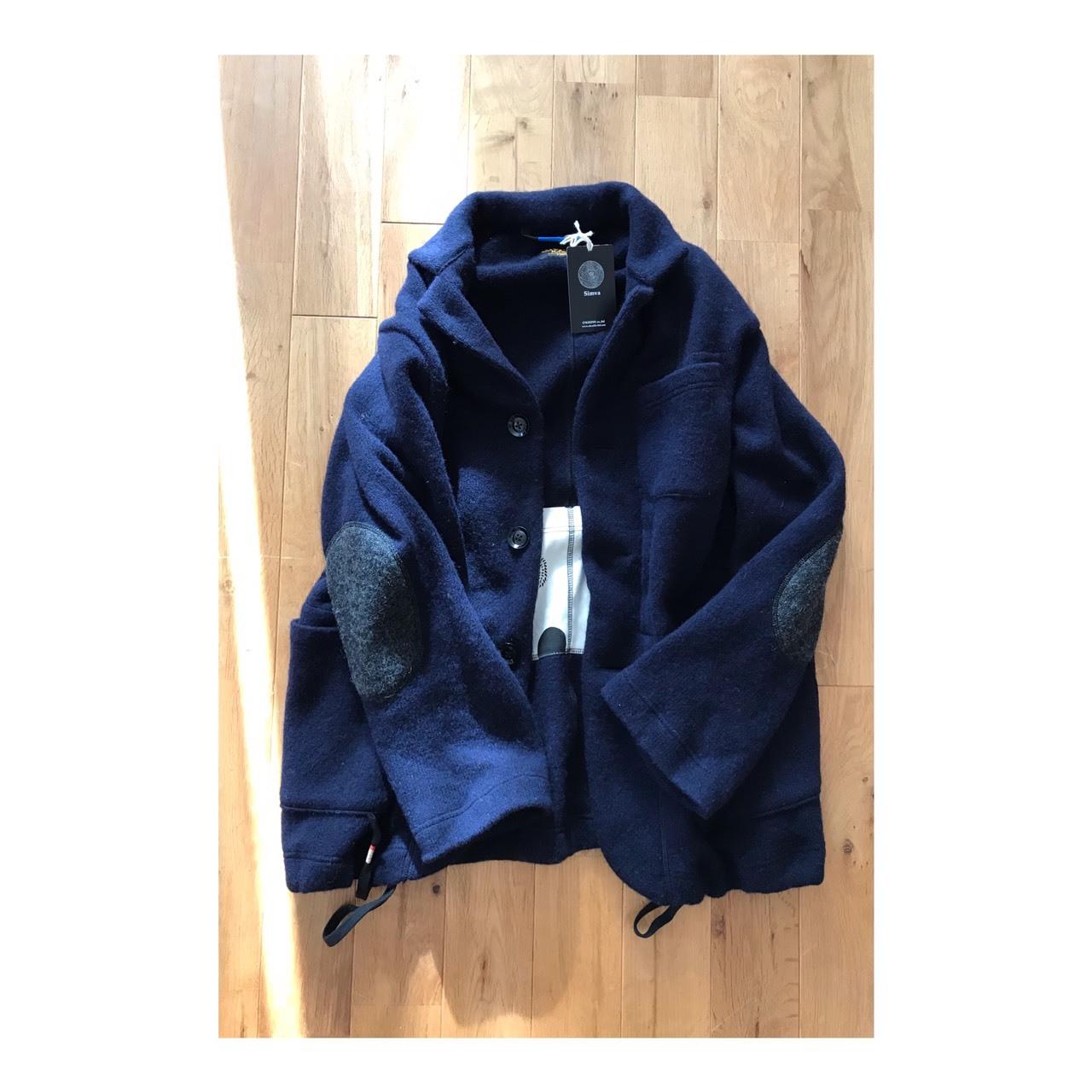Simva116-0019 British Wool 3B JacketCoat