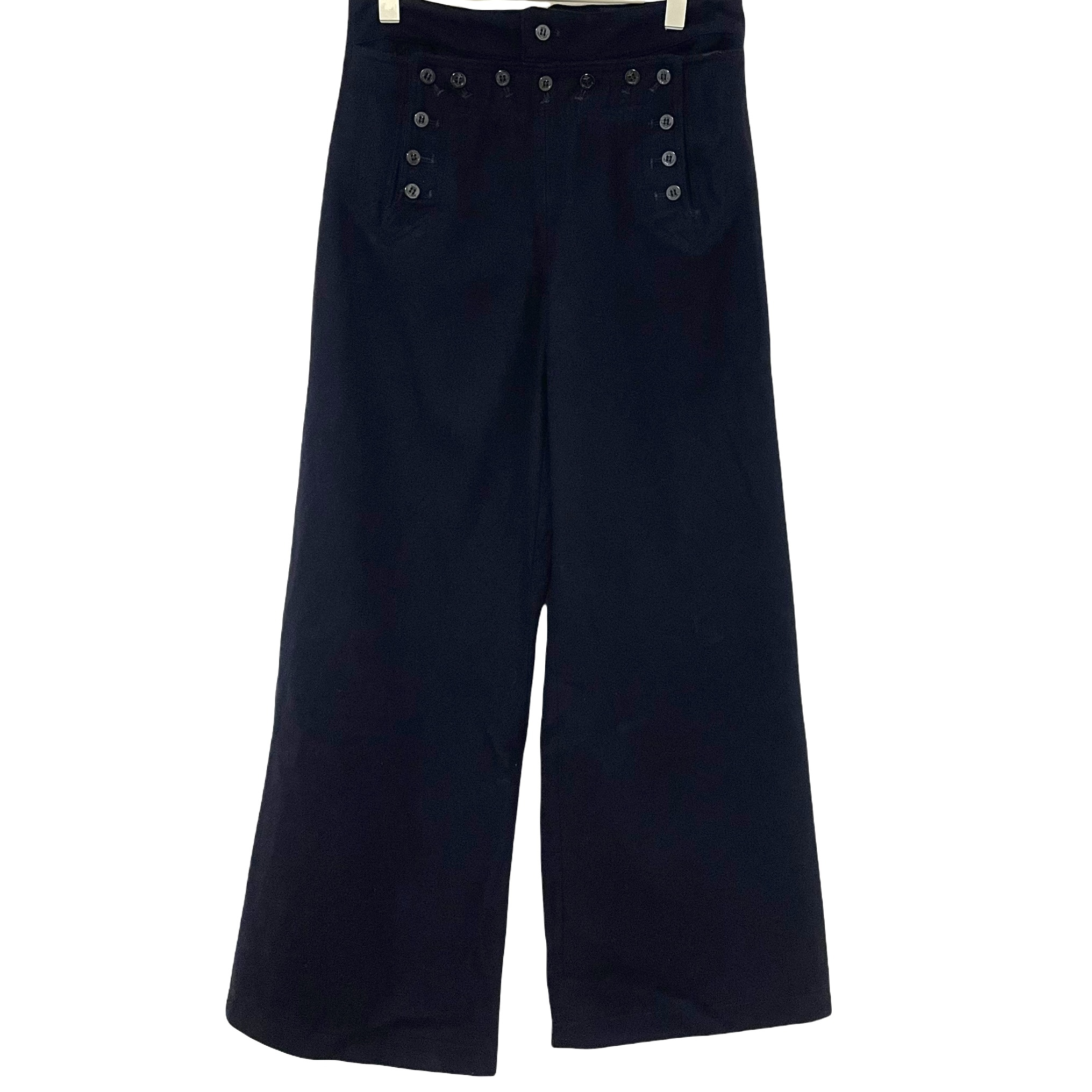 70's U.S.NAVY 13 buttons Sailor Pants【Melton W33】