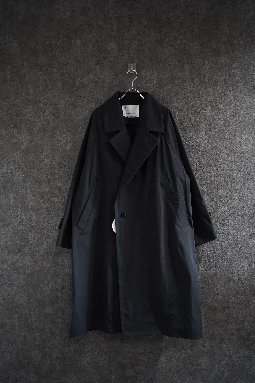 VOAAOV SUSTAINABLE NYLON COAT Black