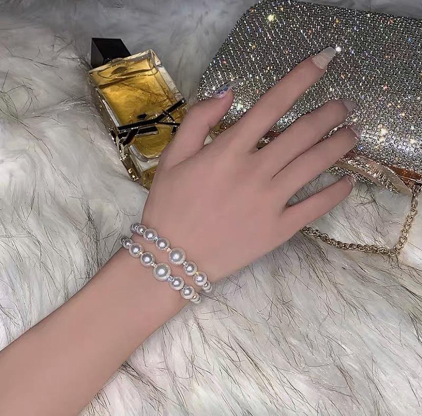 pearl bijou bracelet