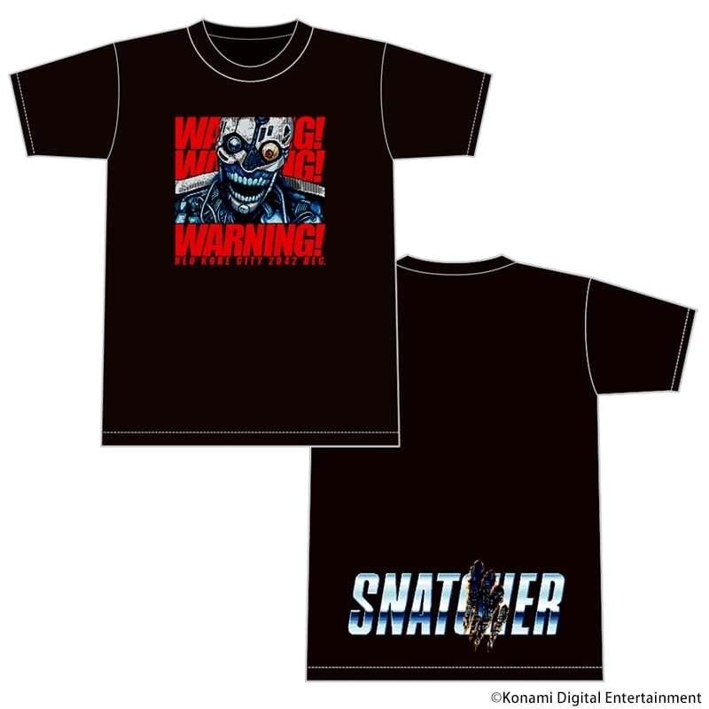 """スナッチャー """"SNATCHER"""" Tシャツ ブラック"""