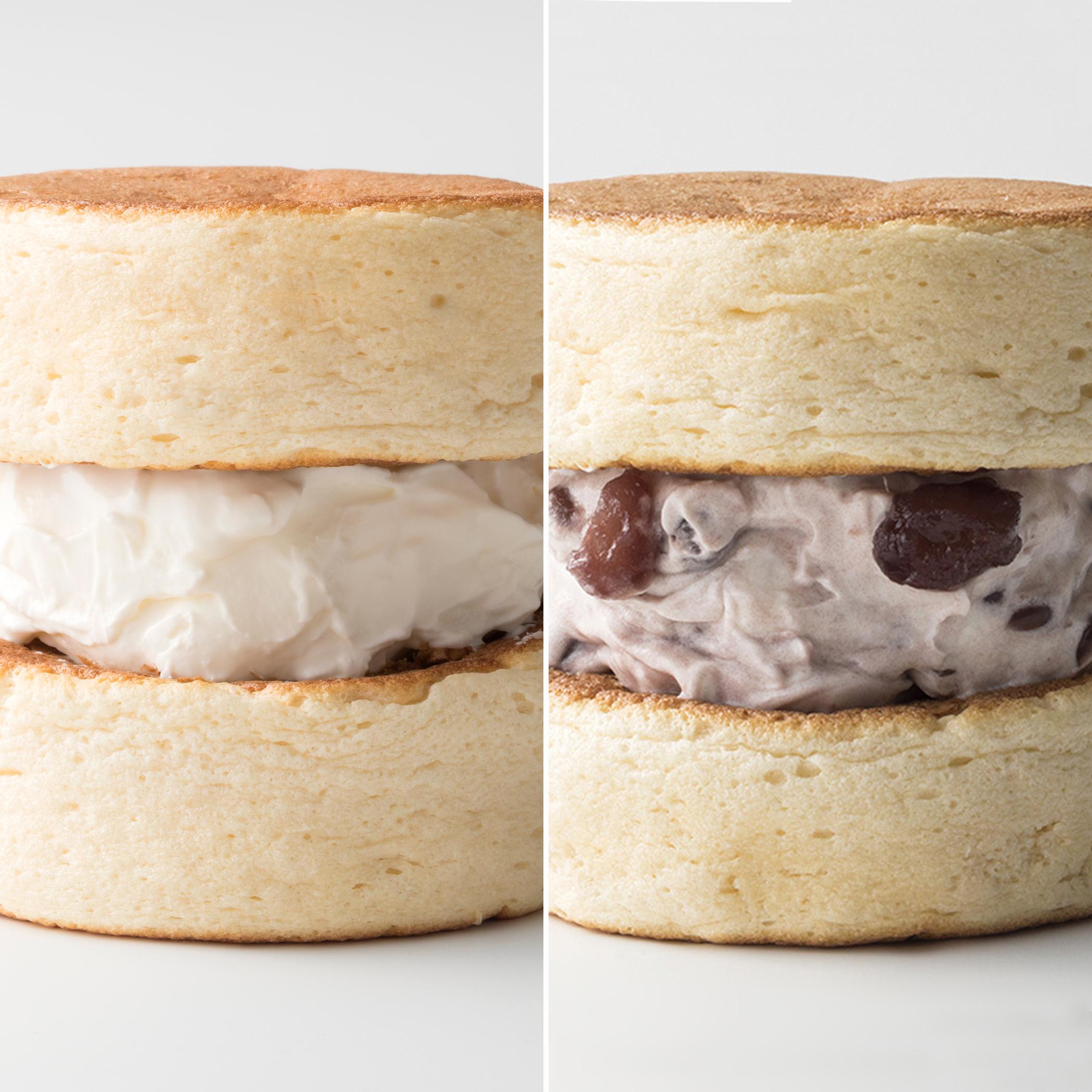 【8月1日(日)10:00販売開始】ふわふわ わぬき ミルククリーム5個とあんクリーム5個セット