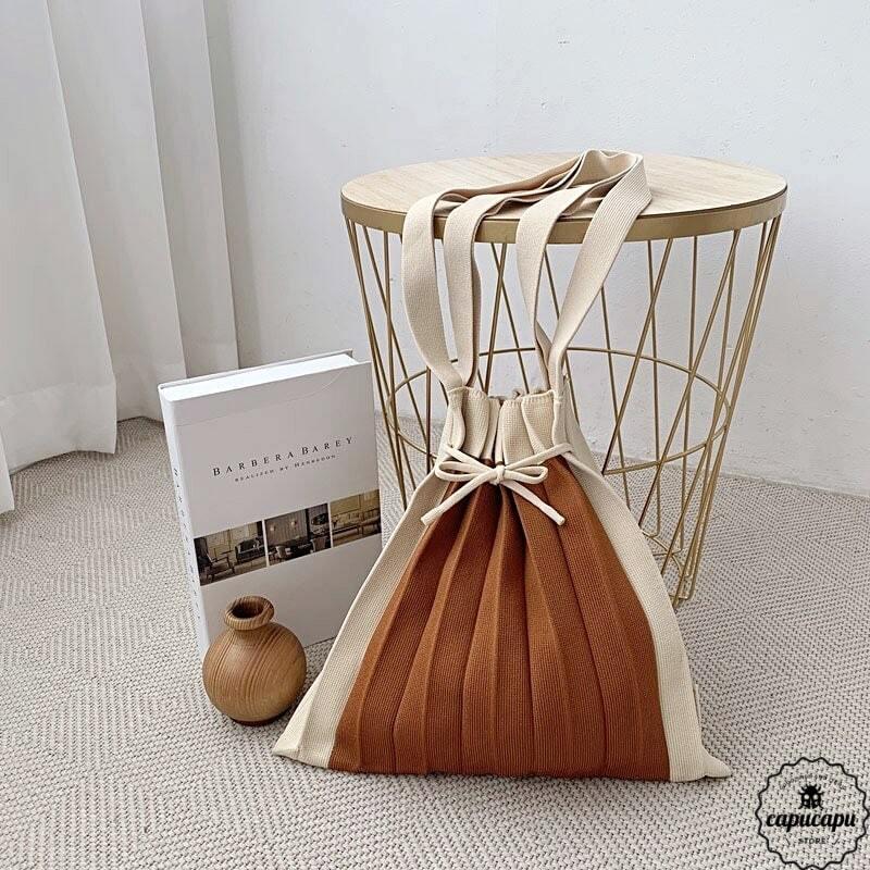 «即納» knit bag medium size 6colors