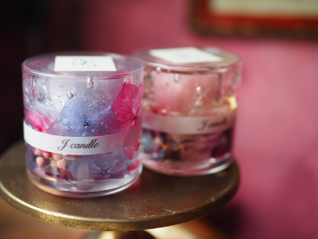 Flower aroma candle 3