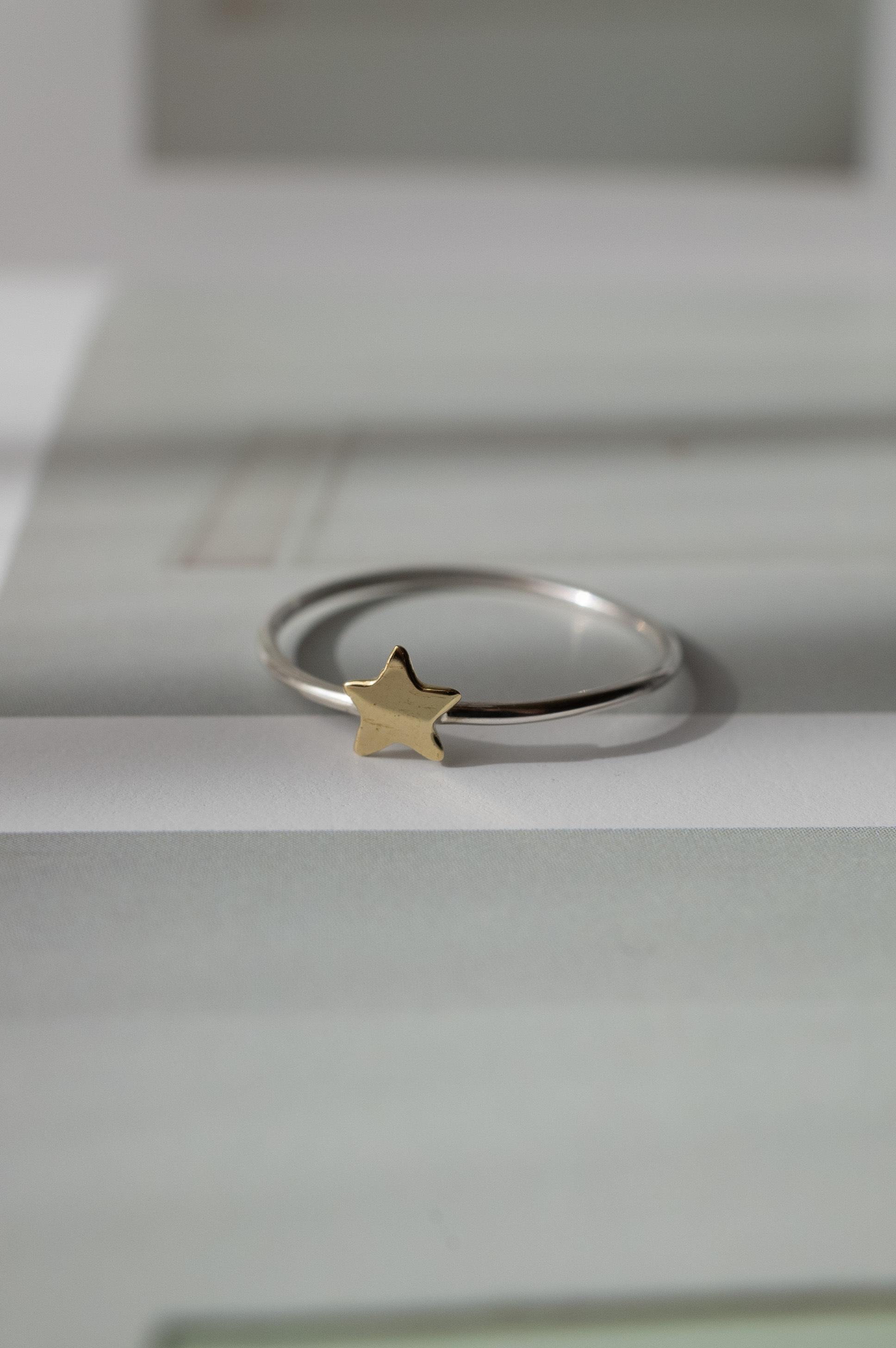 Tiny Star Ring  Mix - 007