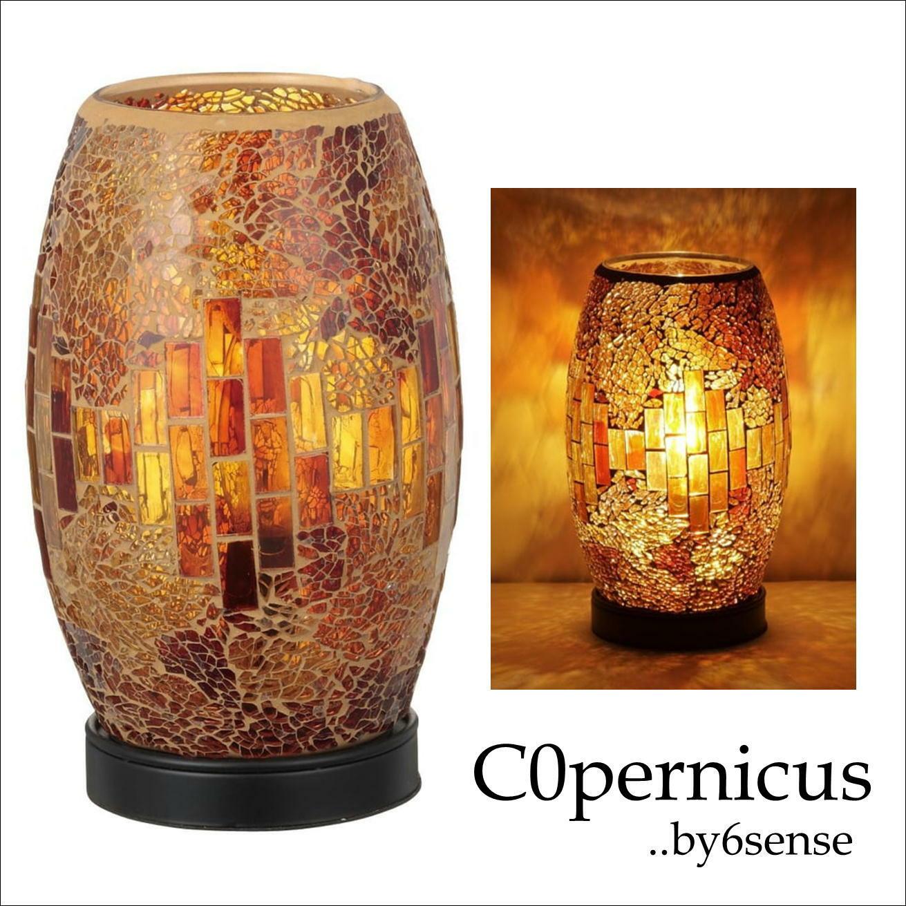 モザイクランプ amber クリムト風ランプ  浜松雑貨屋C0pernicus
