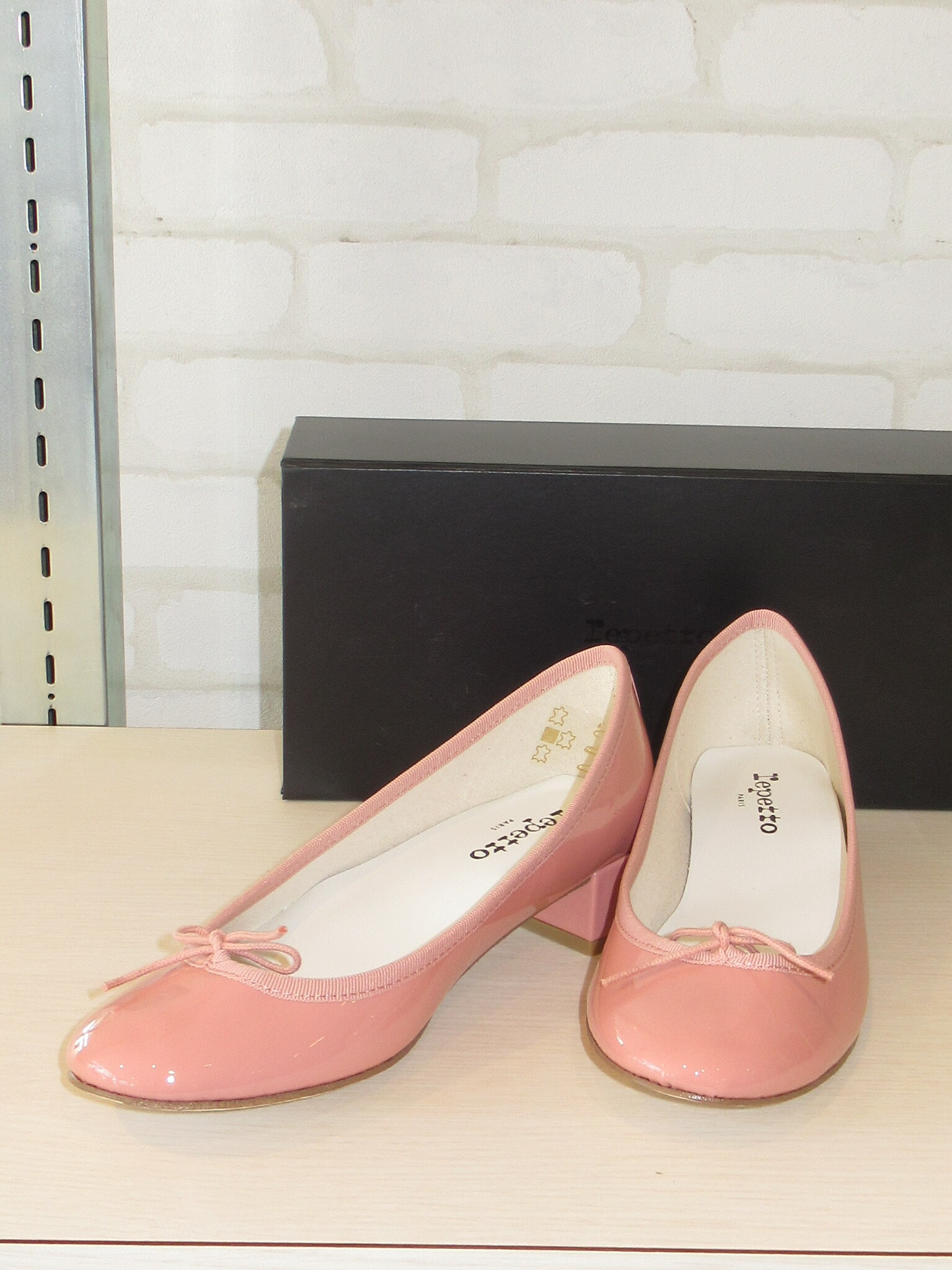 repetto/51511/Camille Ballerinas(ピンクパテント)