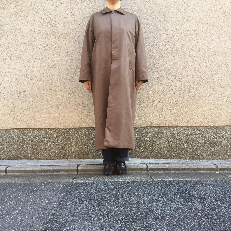 YAECA /ヤエカ ステンカラーコートロング brown レディース #60555