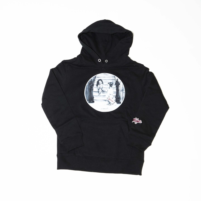 K'rooklyn Kids hoodie K'rooklyn Kids × Denali -Black