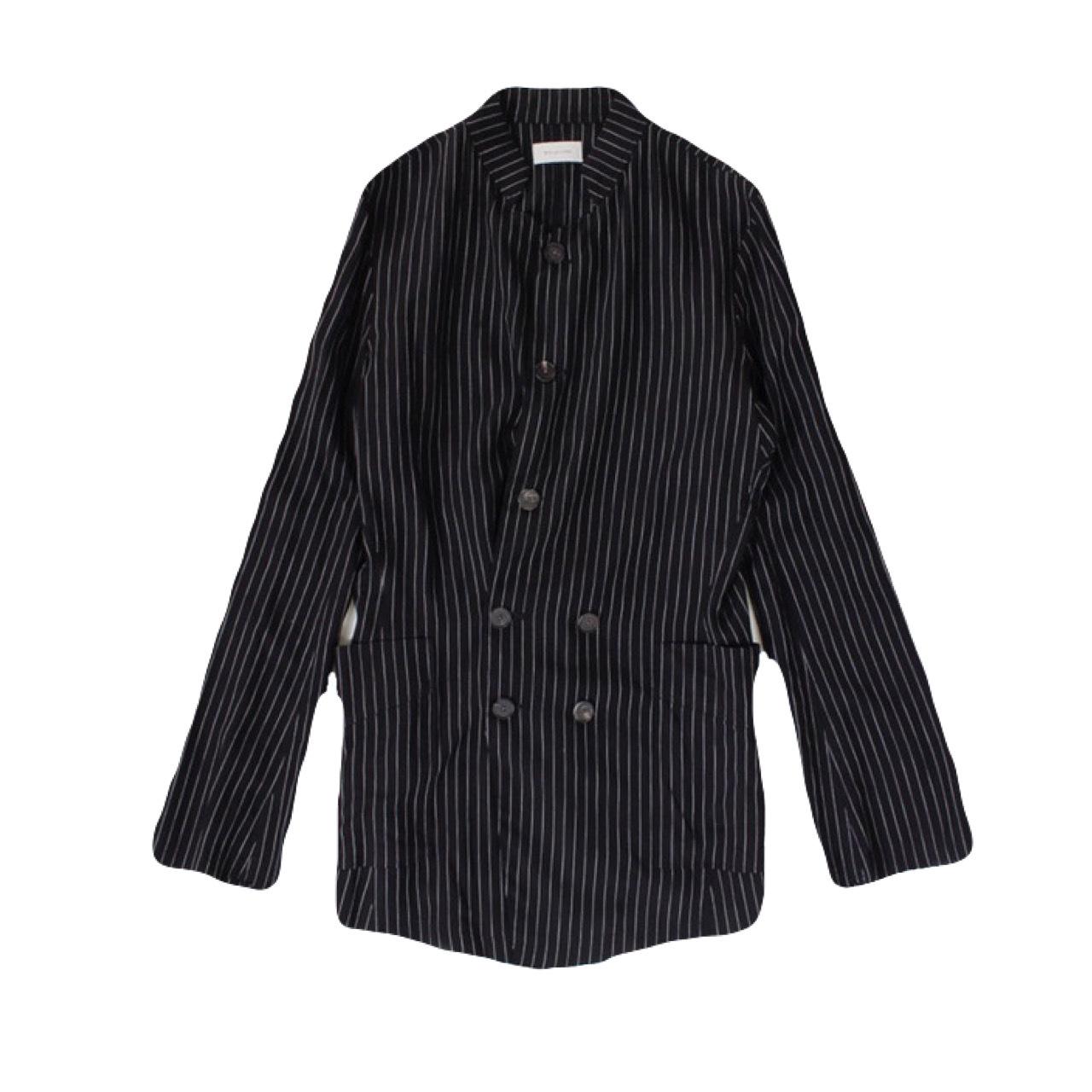 BED J.W. FORD  Stripe Jacket Black