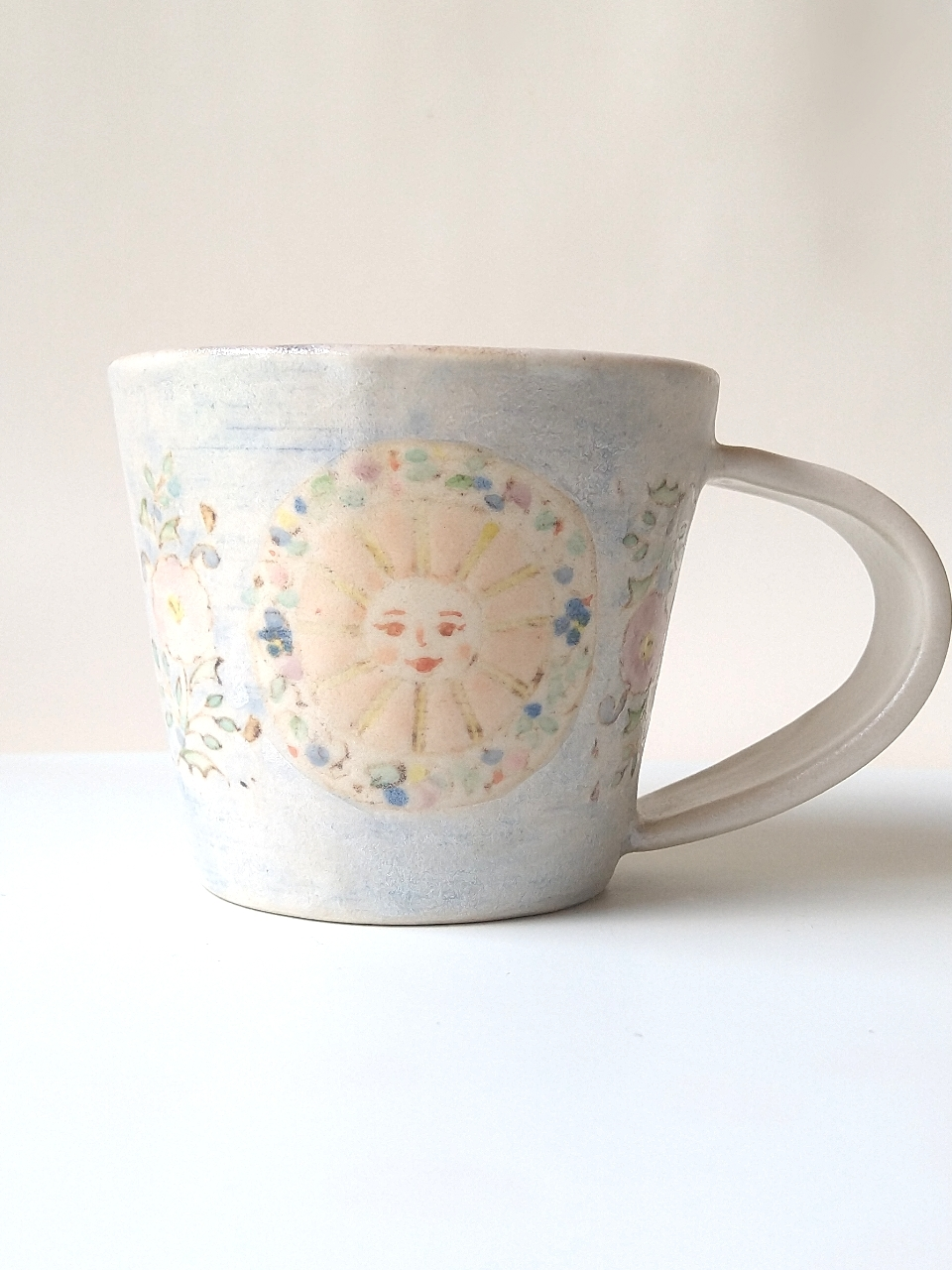 sun&moonコーヒーカップ ライラック