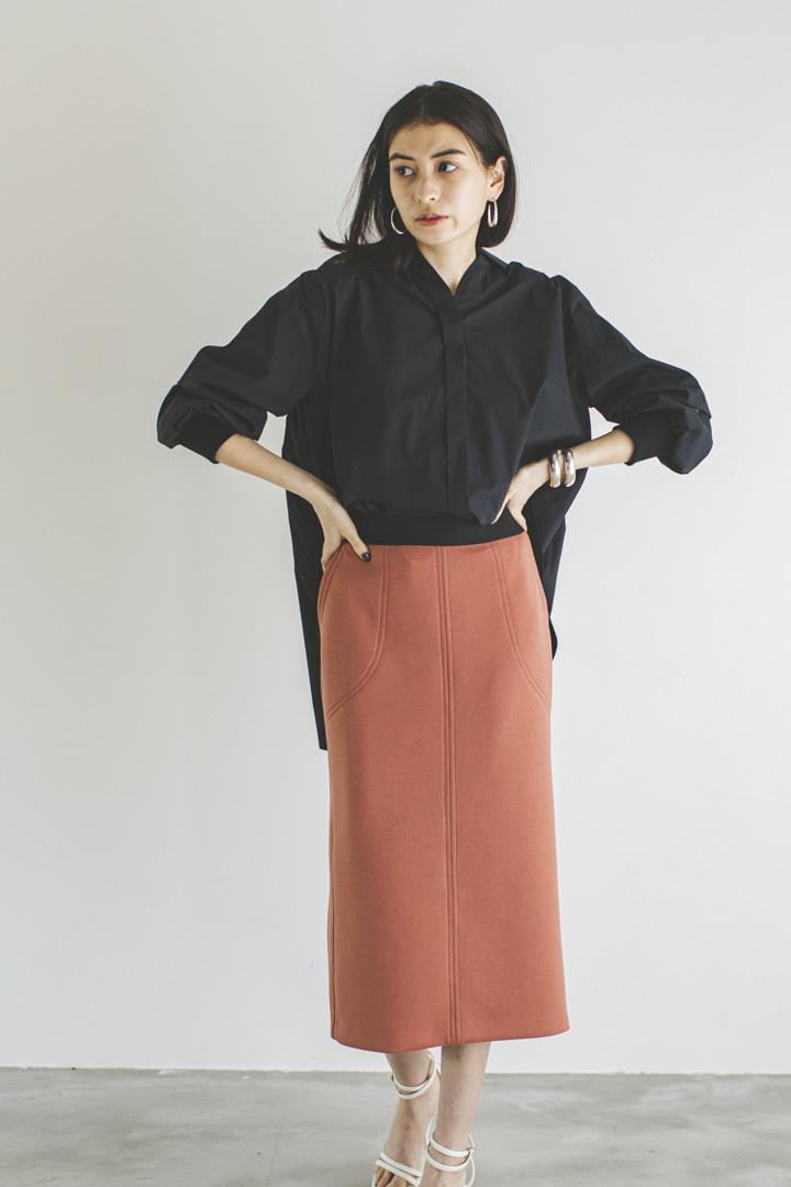 ポンチタイトスカート < コーラル > #