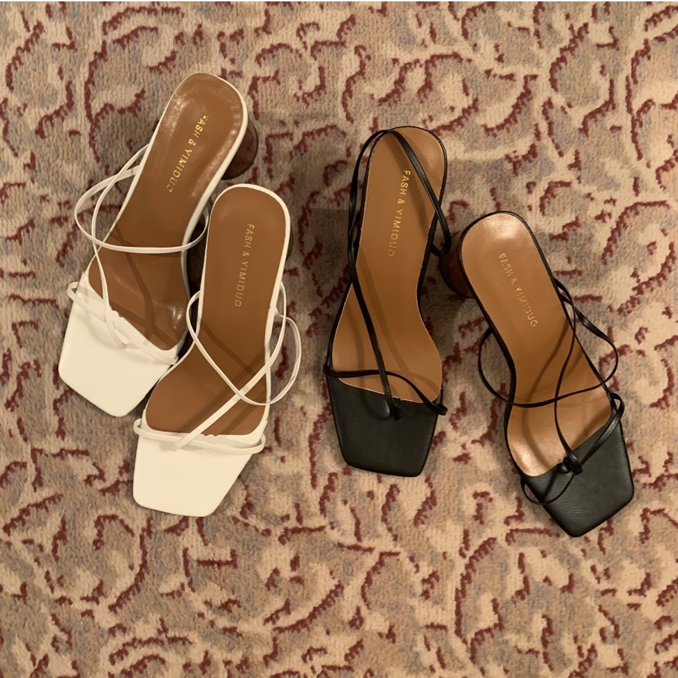 【SSC atelier】wood sole sandal