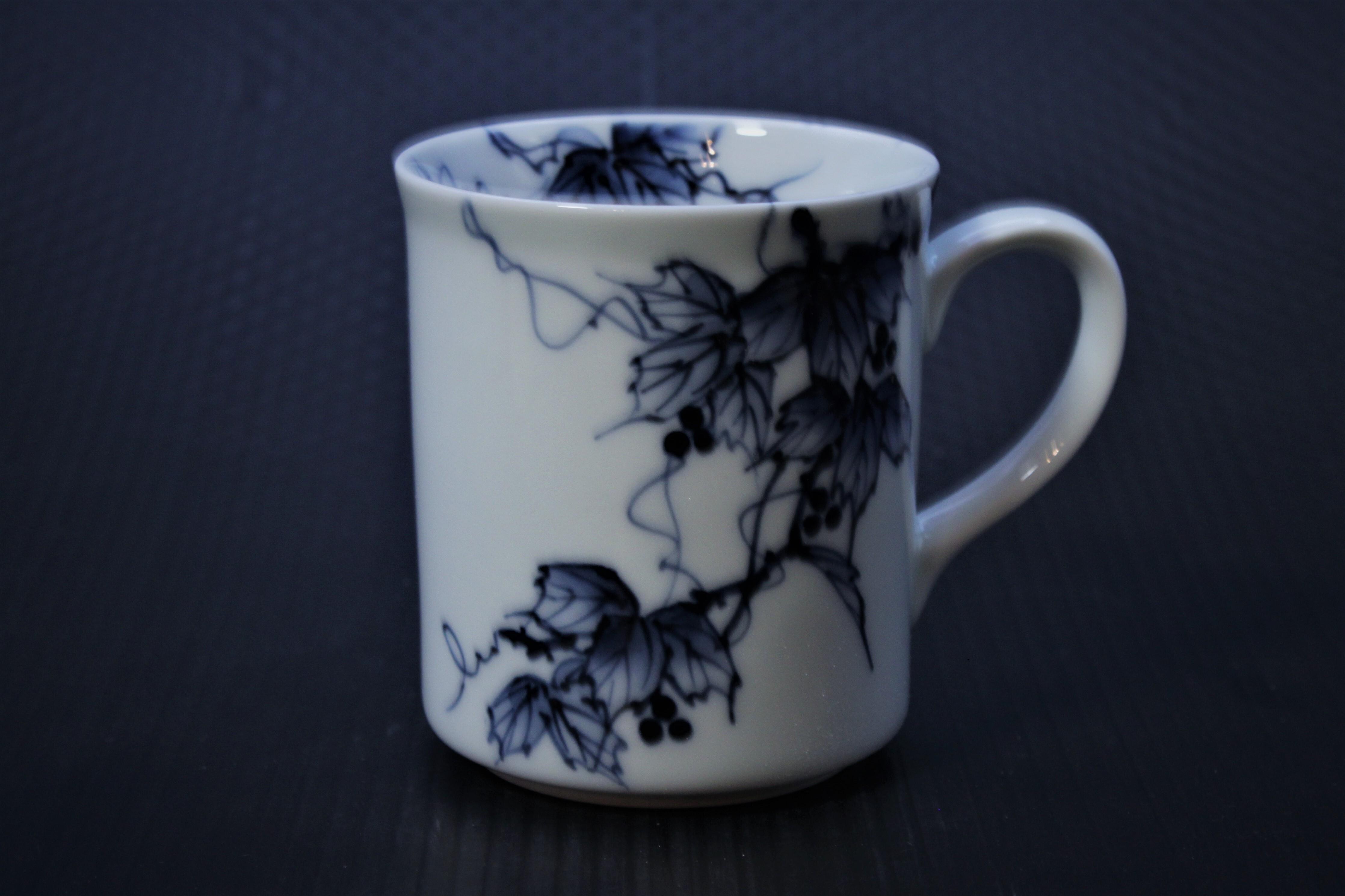 野ぶどうマグカップ