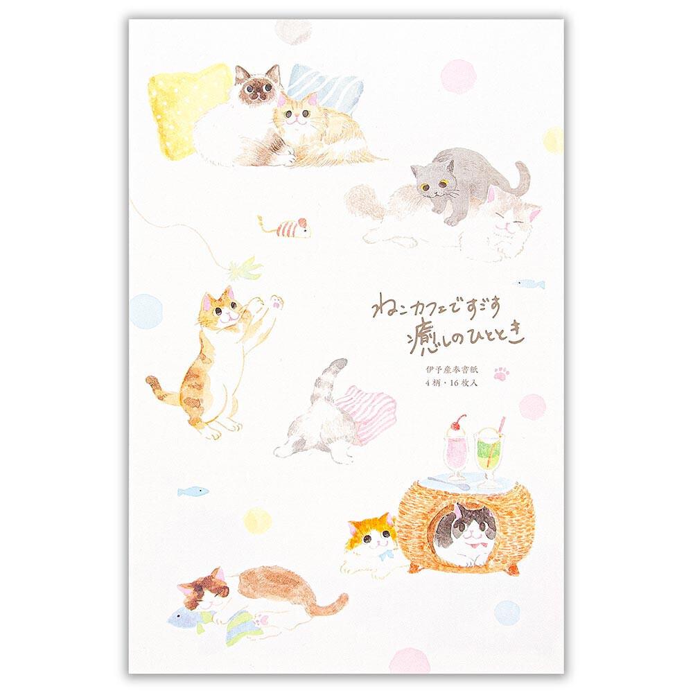 猫便箋(ねころび)猫カフェ