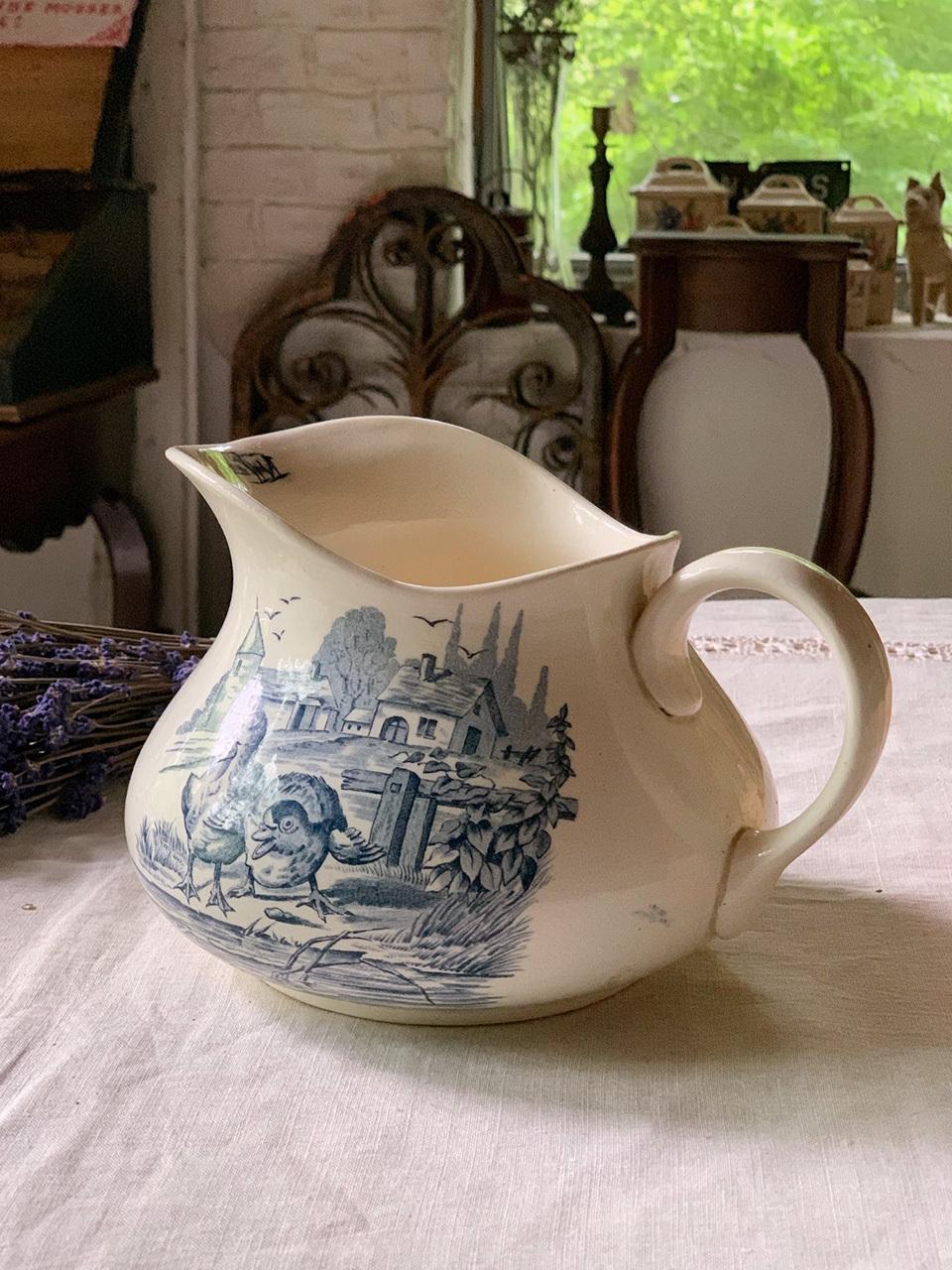陶器 ピッチャー ジャグ 水差し カンパーニュ