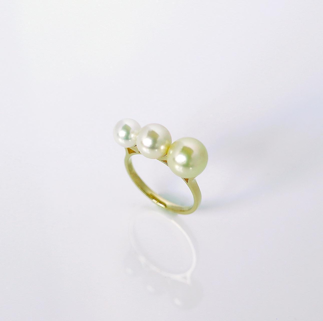 COLORS / Ring (Natural Gold)