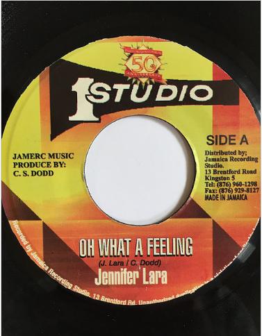 Jennifer Lara(ジェニファーララ) - Oh What A Feeling【7inch】