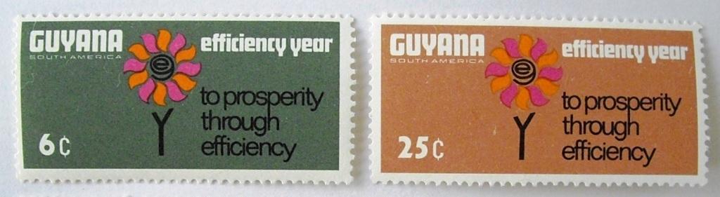 効率向上 / ガイアナ 1968