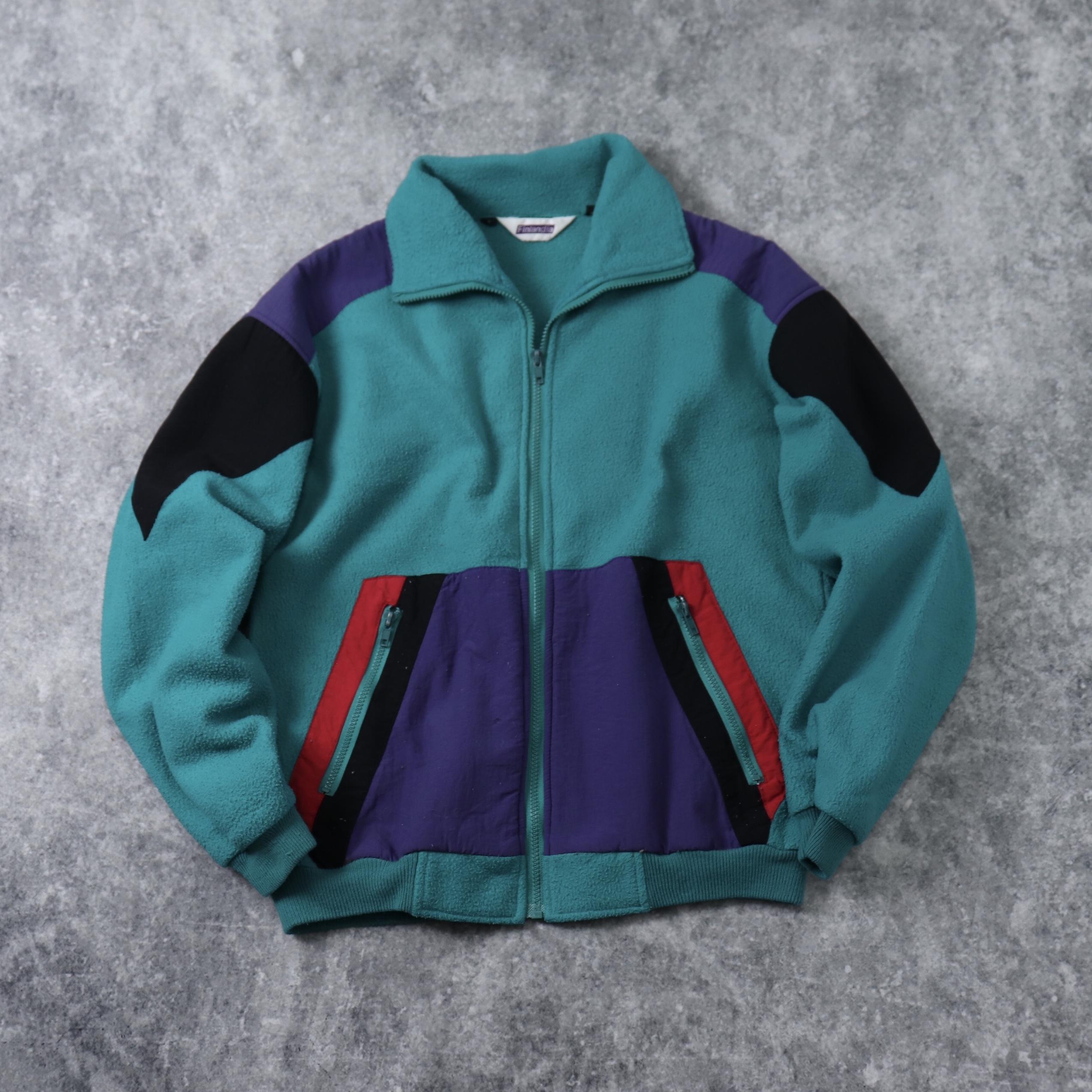 90's ''Finlandia'' Fleece Jacket 90年代 フィンランディア フリース フリースジャケット A627