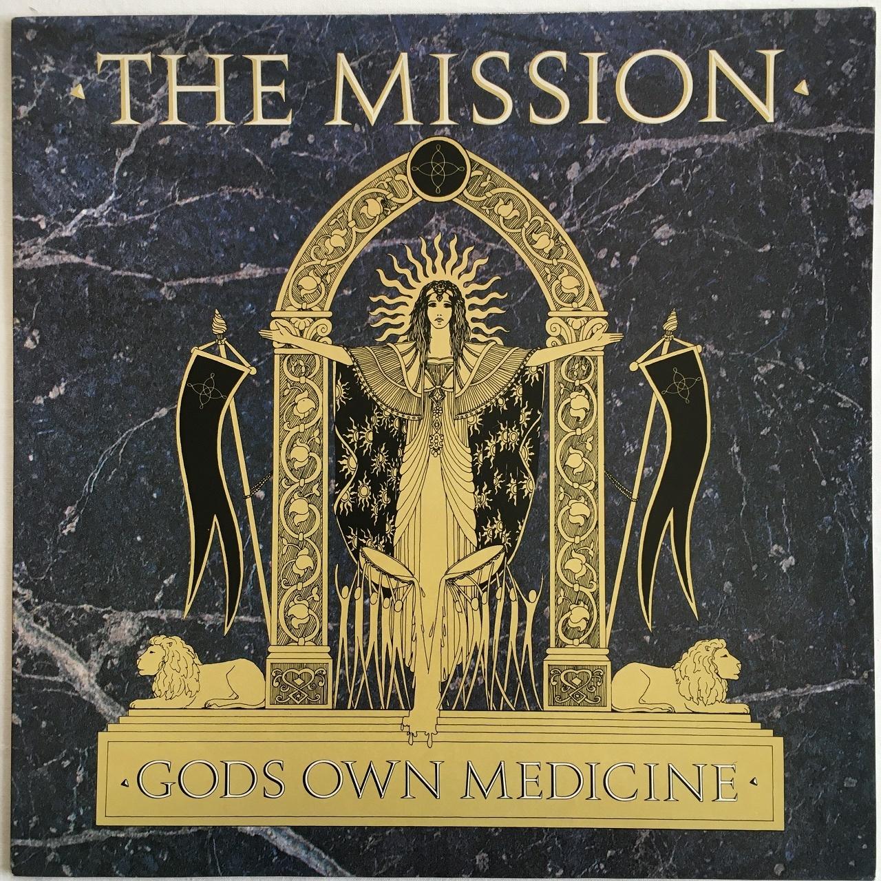 【LP・英盤】The Mission  /  Gods Own Medicine