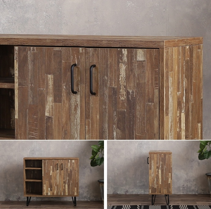CAVA Cabinet / 西海岸ヴィンテージスタイル カヴァ キャビネット