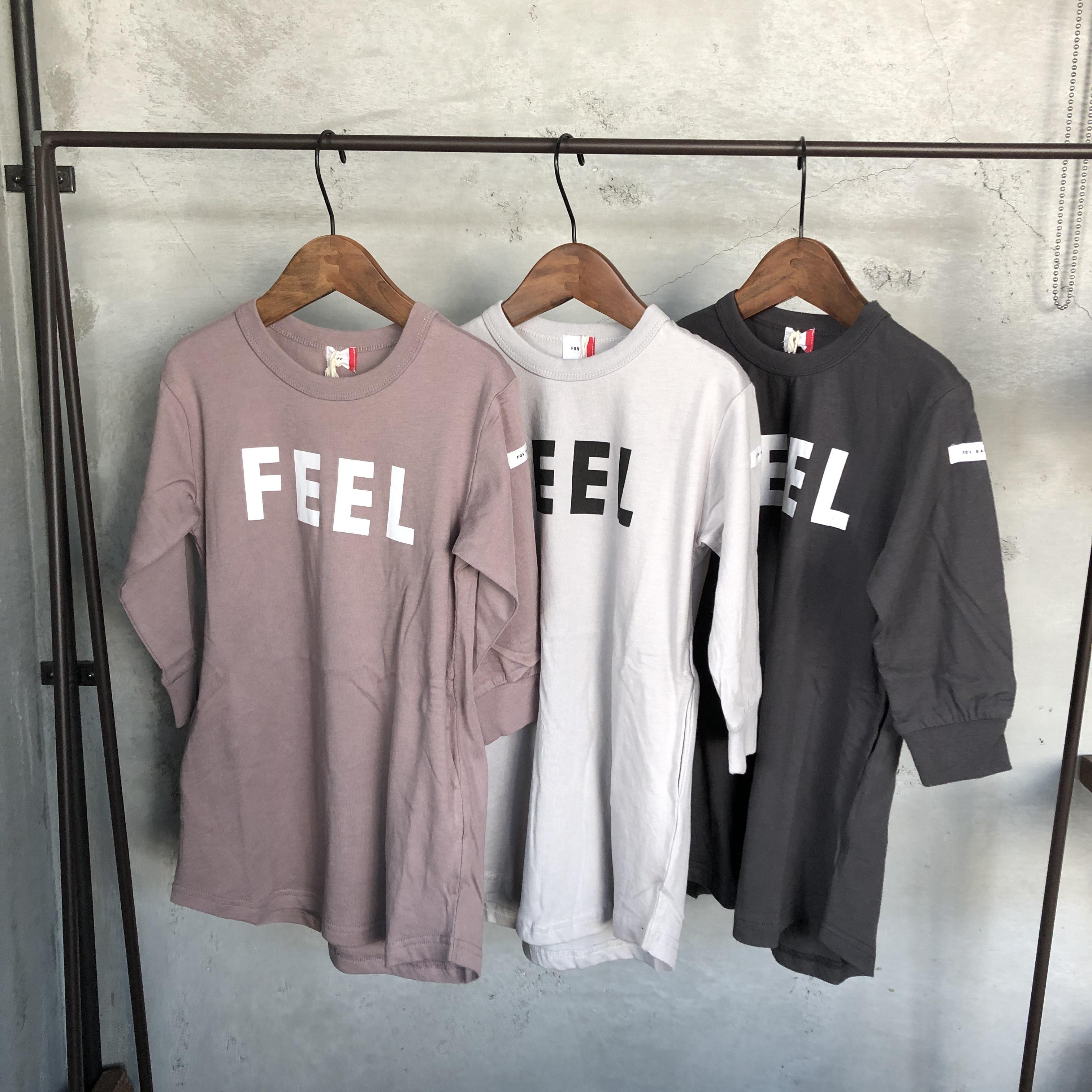 【FOV】 FEEL 長袖ワンピース キッズ~ママ 610803