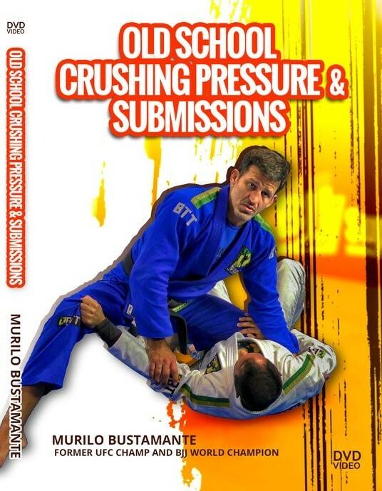 ムリーロ・ブスタマンチ  オールドスクール・クラッシングプレッシャー&サブミッション  DVD2枚組