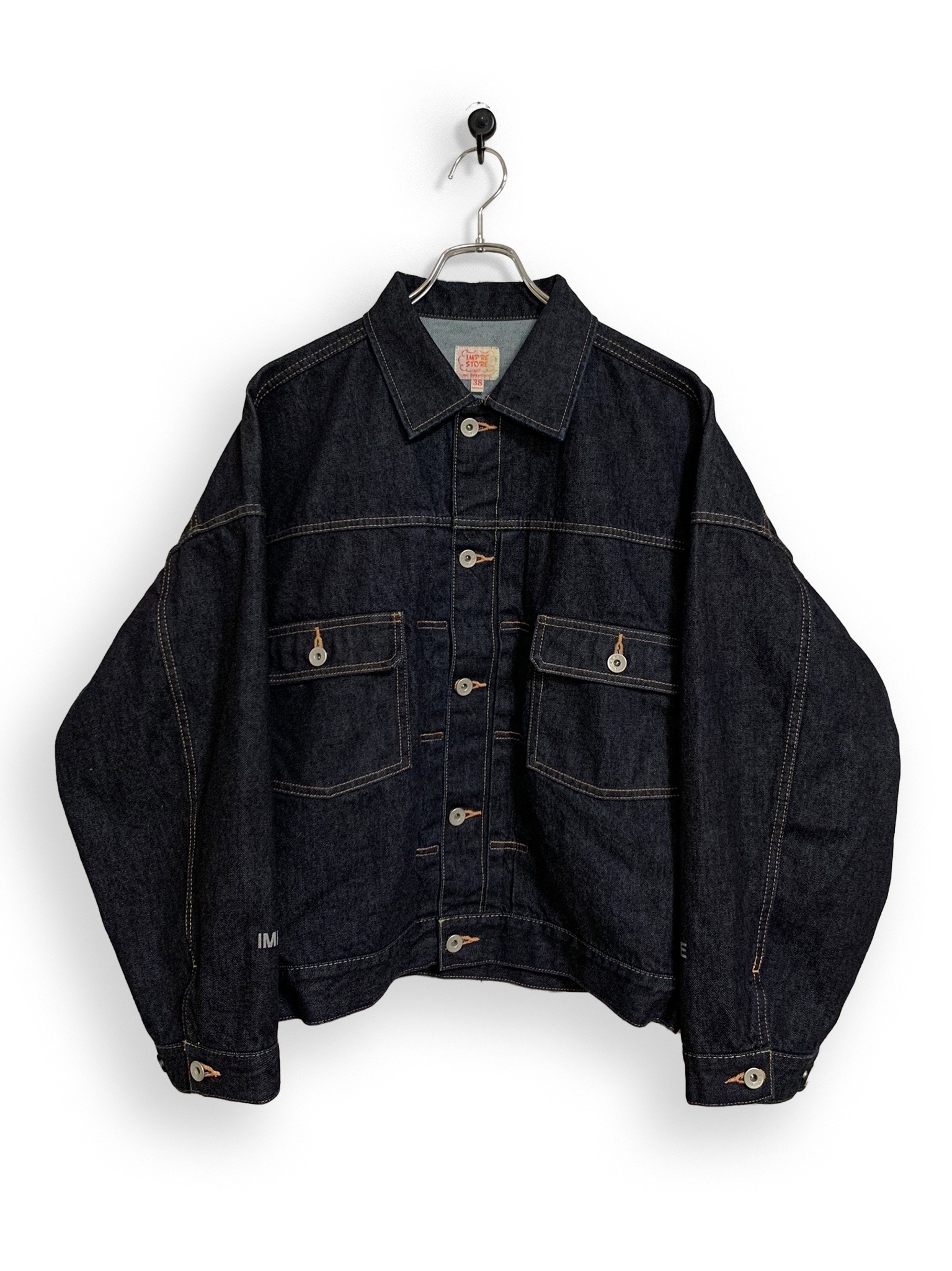 12.5oz Denim Jacket / one wash