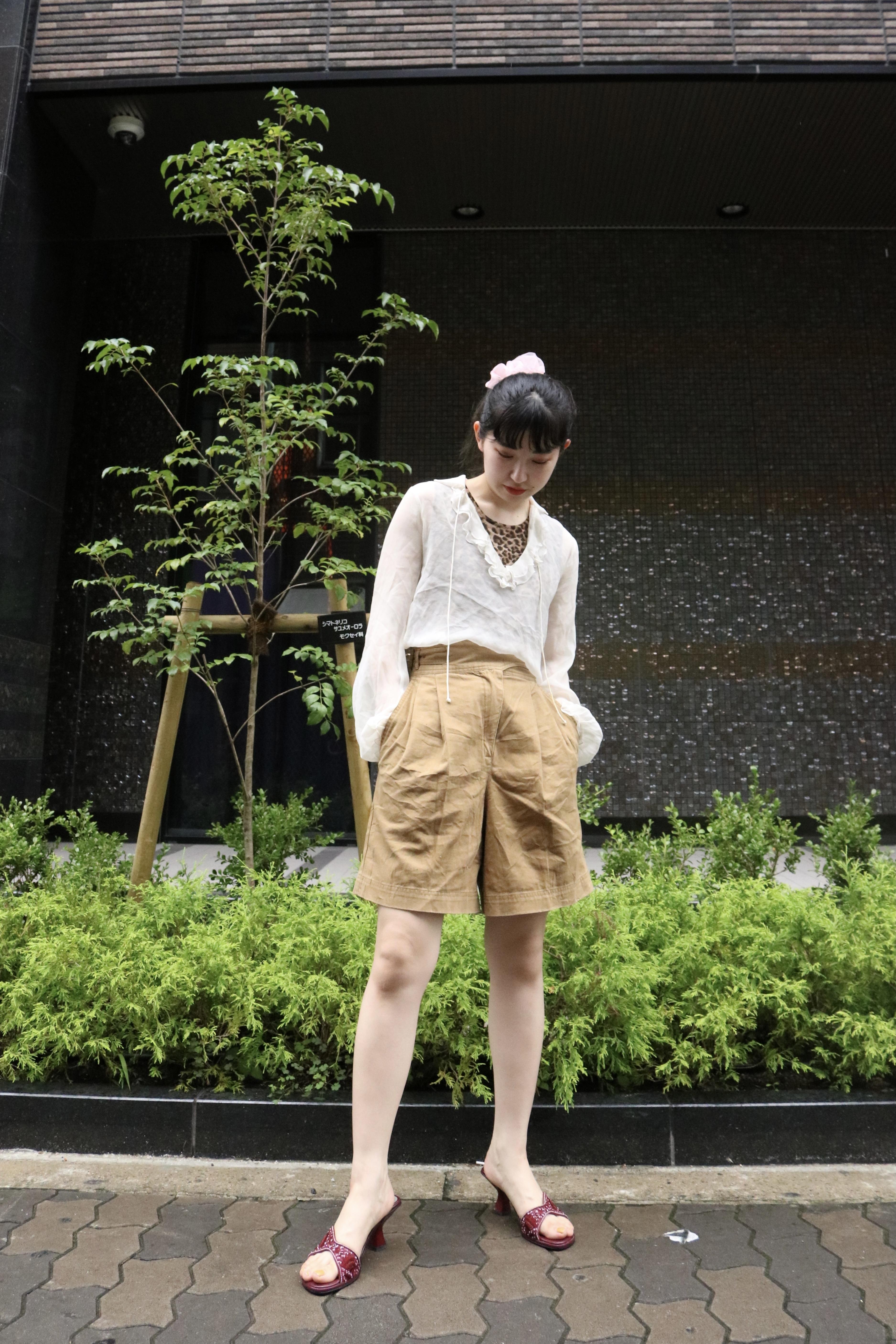 design belt shorts  / 7SSPT09-26