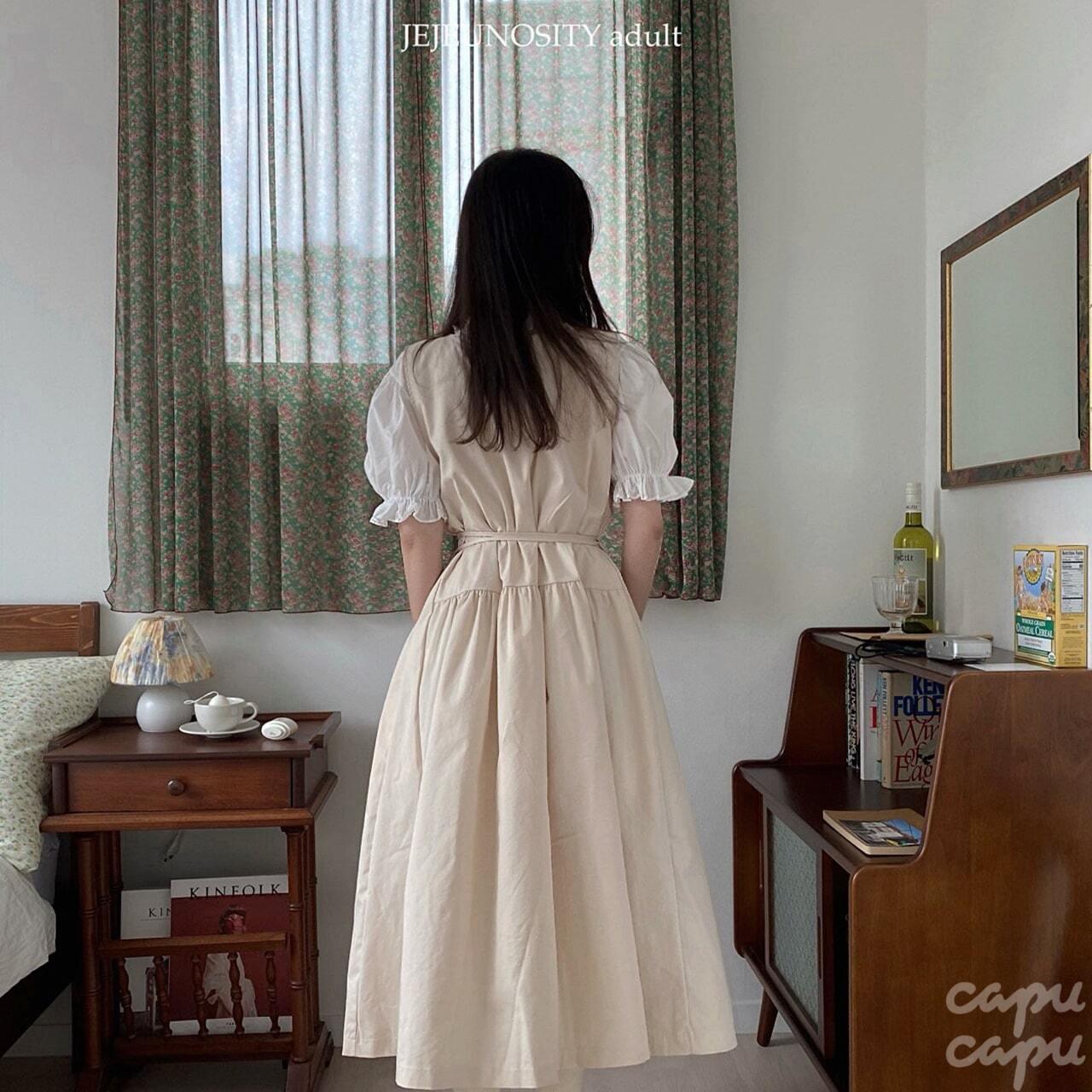 «予約»«LADIES» jejeunosity shirt one piece シャツワンピース