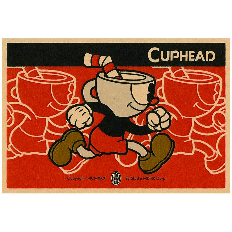 CUPHEAD ( カップヘッド ) ポストカード① カップヘッド / エンスカイ