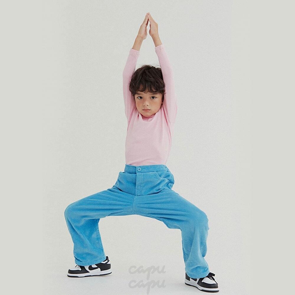 «先行予約割引»«HAI»  pastel corduroy pants パステルコーデュロイパンツ 2colors