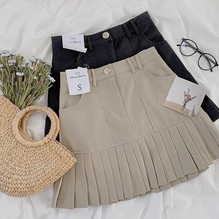 rétro frill skirt 2color