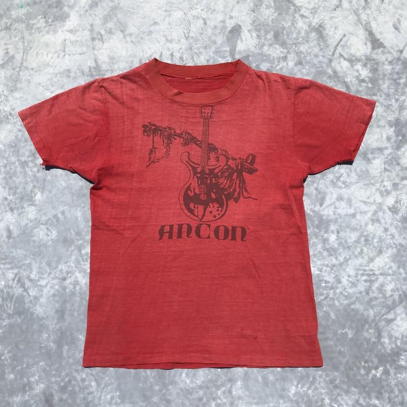 70's FESTIVAL DE ANCON Tシャツ コロンビア 1971年 ウッドストック フェス ロック 希少 ヴィンテージ