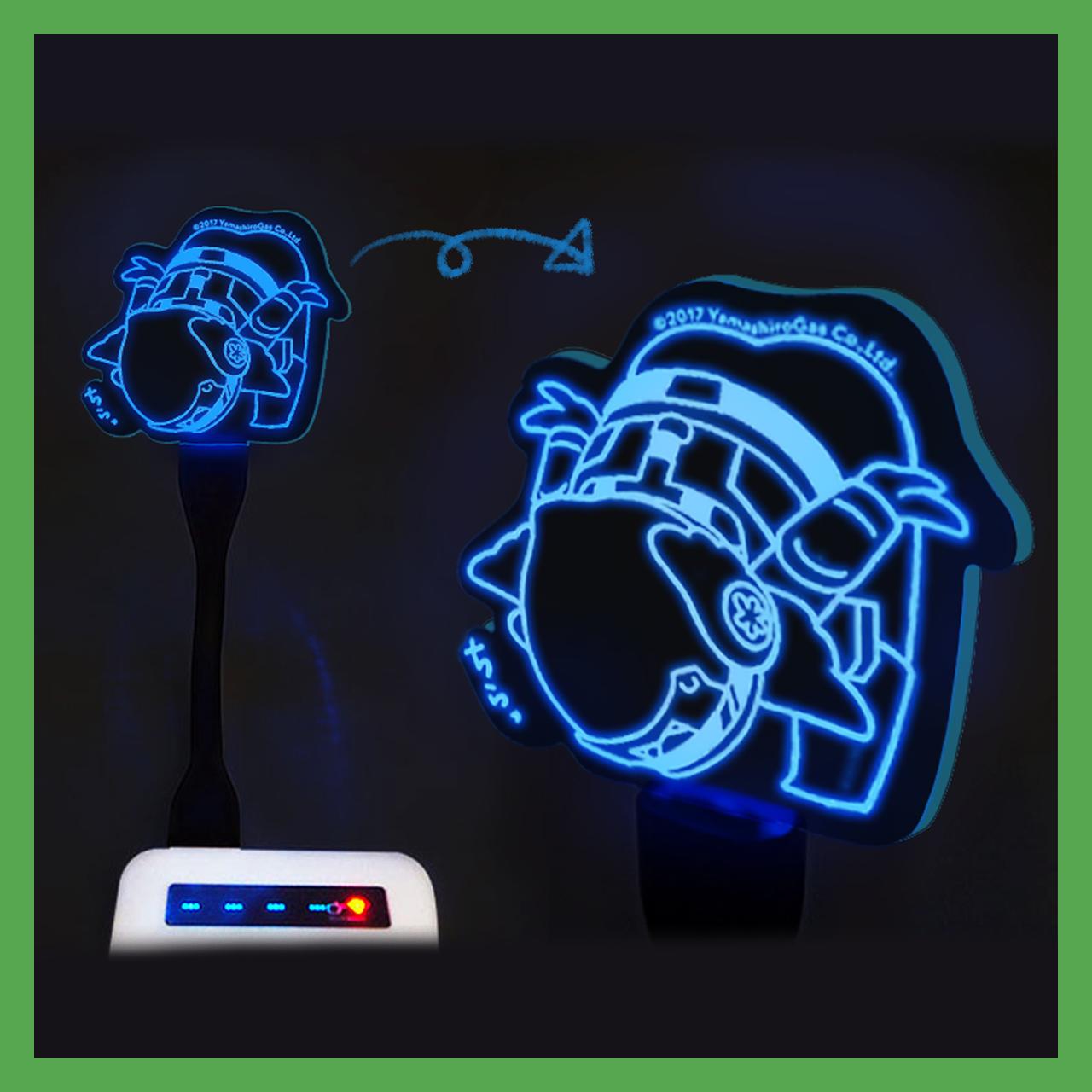 光るヤマシロンのおしり(LED)