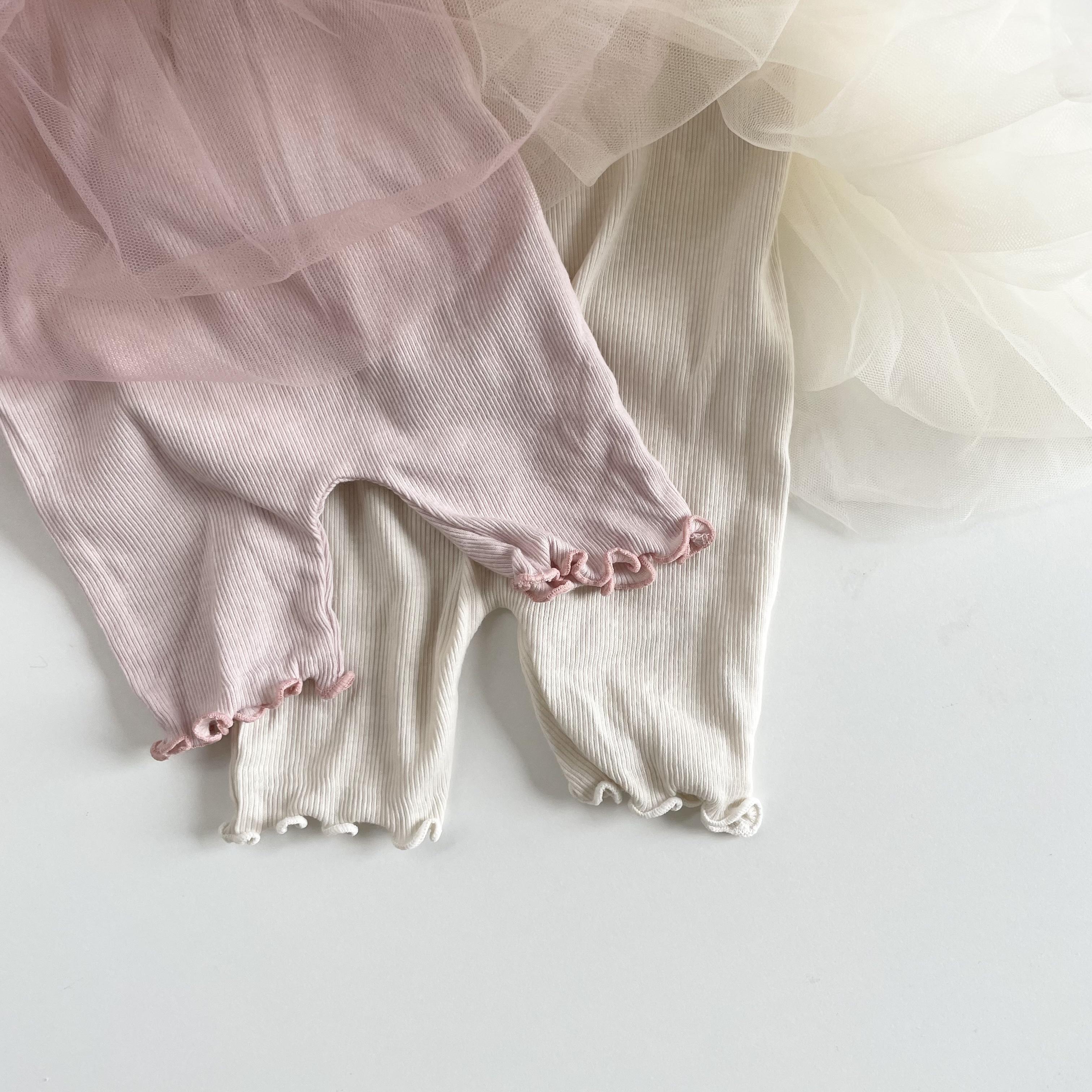 NO.1425. tulle  skirt leggings  / M - KIDS