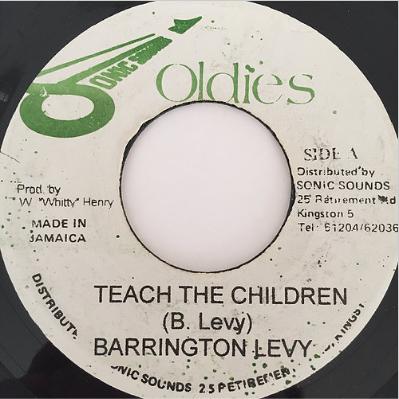 Barrington Levy(バーリントンリヴィ) - Teach The Children【7'】