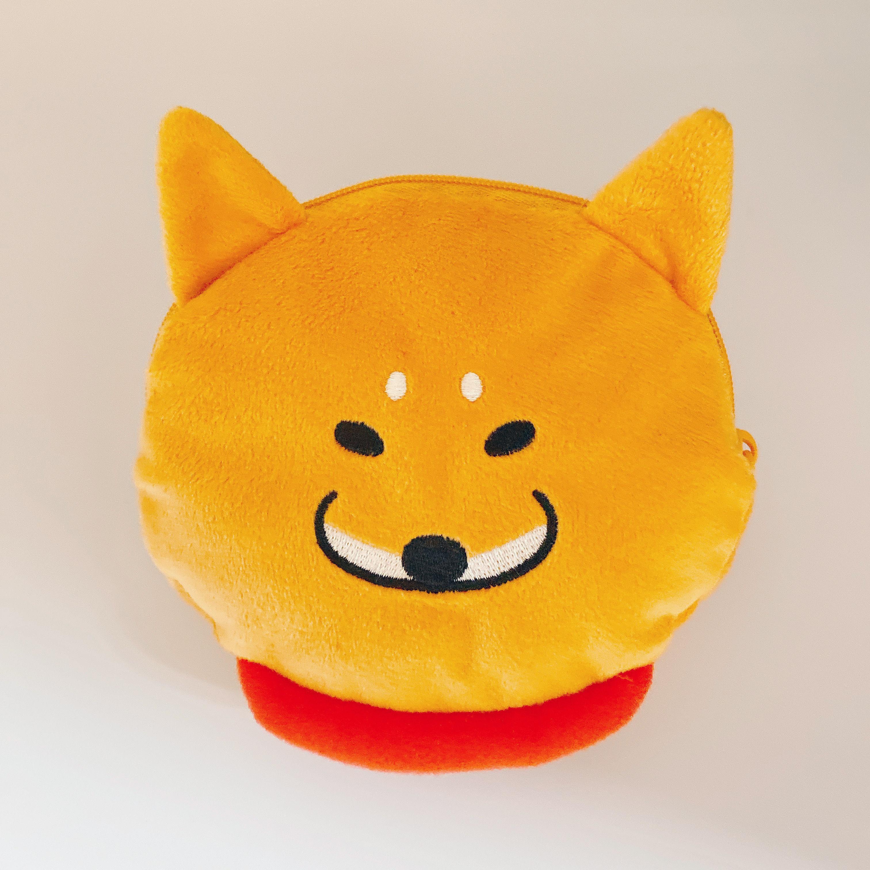 柴犬ラク ぬいぐるみポーチ(柴犬ラク)