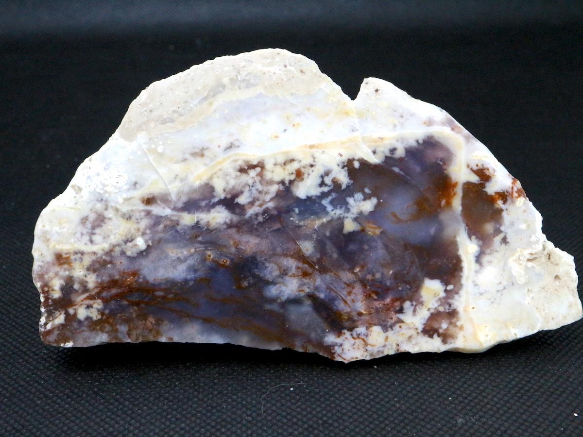オレゴン産 ホワイトミュールアゲート 201,9g 原石 WMA004 鉱物 天然石 パワーストーン 鉱物