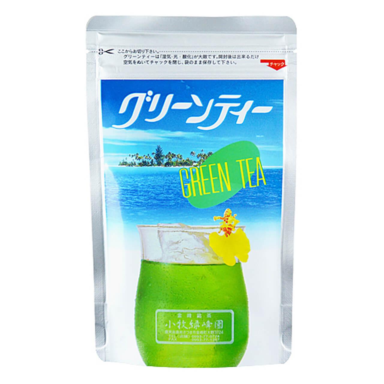 お茶 粉末 グリーンティー 150g 緑茶 抹茶 粉末 抹茶パウダー 小牧緑峰園