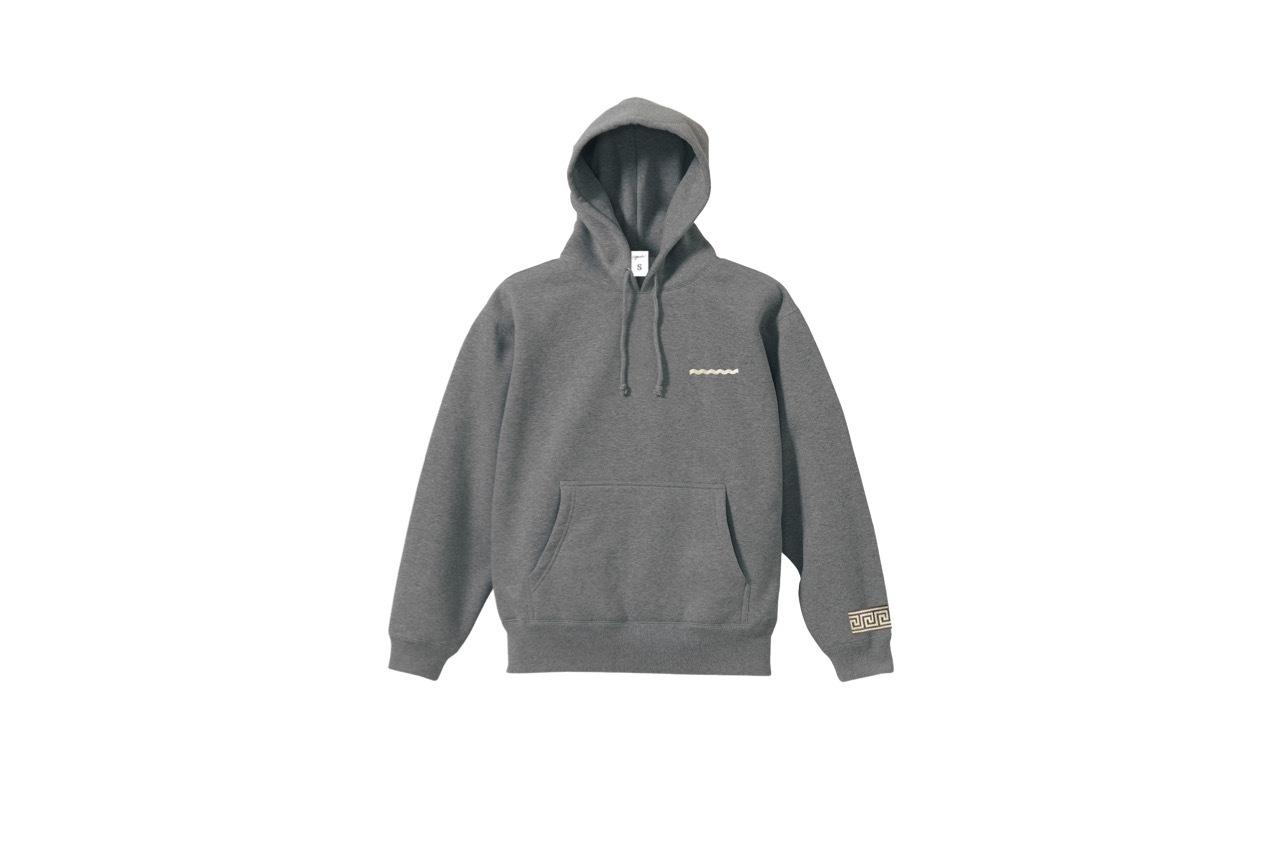 coguchi Clogo line hoodie (GRY)