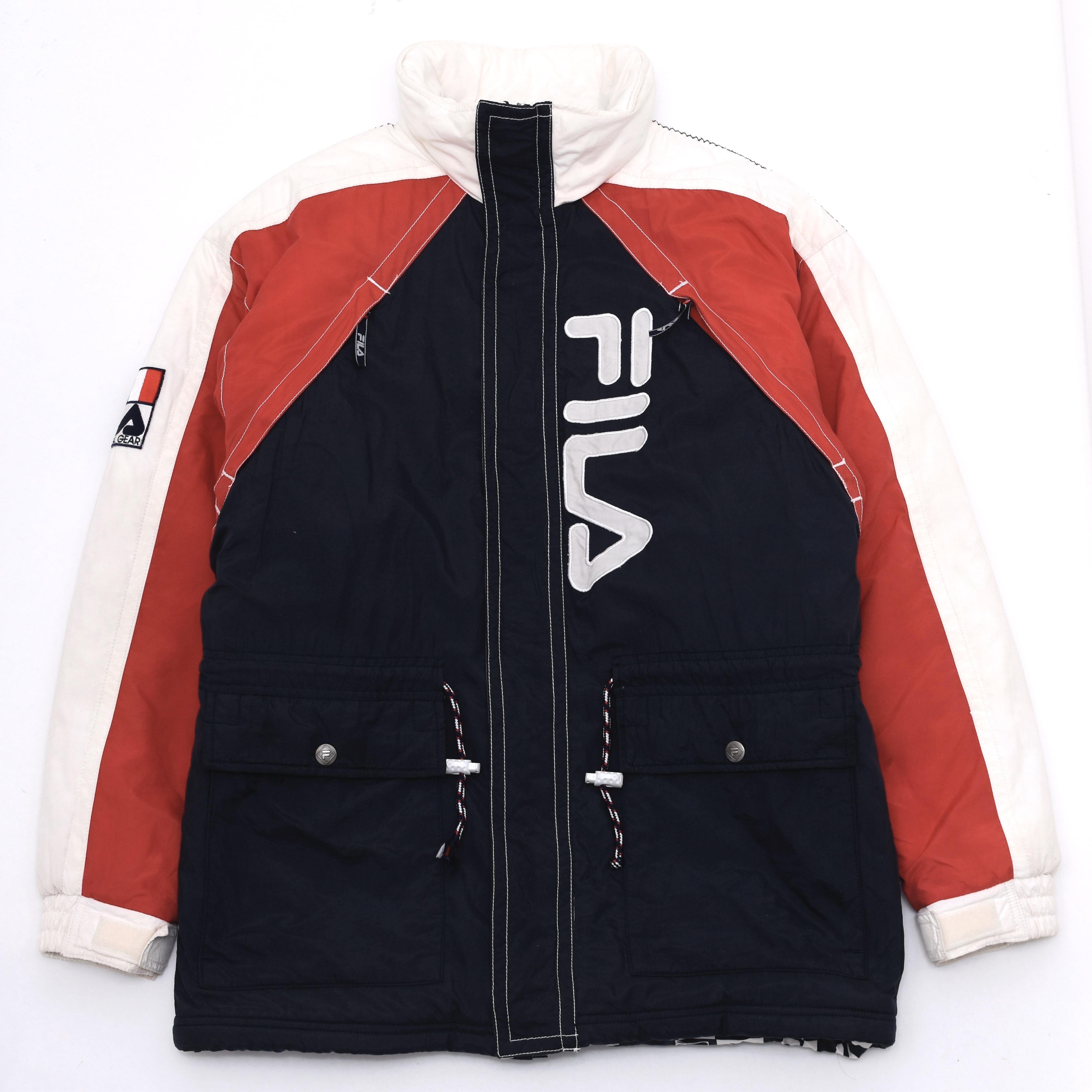 90's FILA international gear nylo jacket