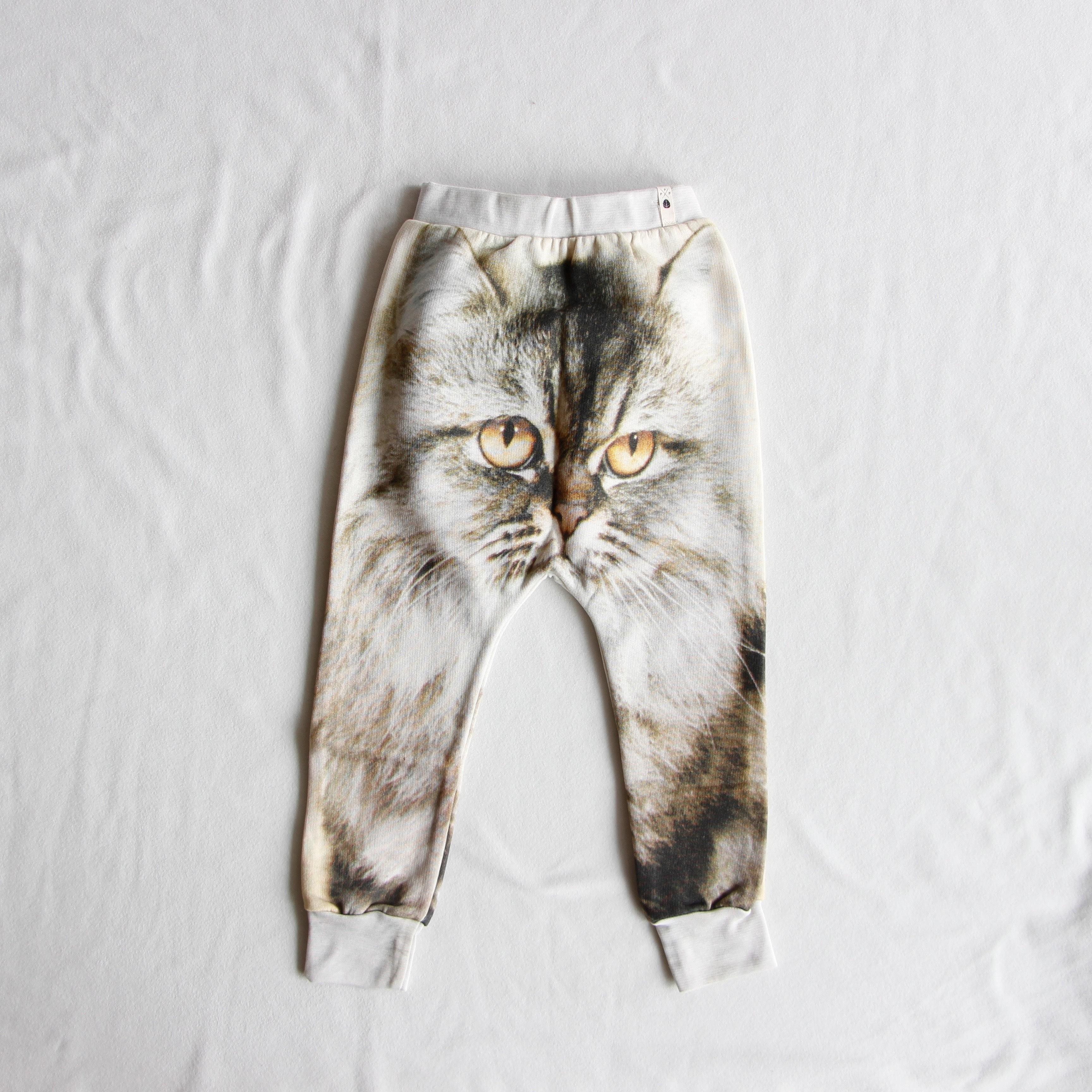 《POPUPSHOP 2015AW》BAGGY LEGGINGS / cat / 2-3・3-4・4-5Y