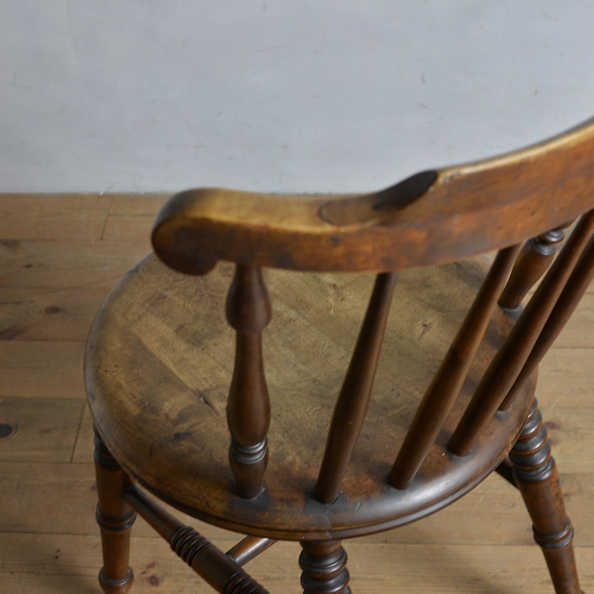 Ibex Chair / アイベックスチェア【A】〈ダイニングチェア・ウィンザーチェア・デスクチェア・椅子・カントリー・アンティーク・ヴィンテージ〉112322