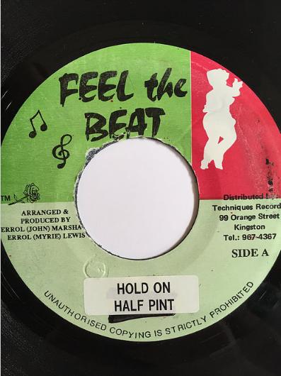 Half Pint(ハーフパイント) - Hold On【7'】